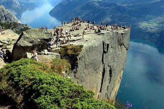 Самые красивые вдохновляющие места на Земле