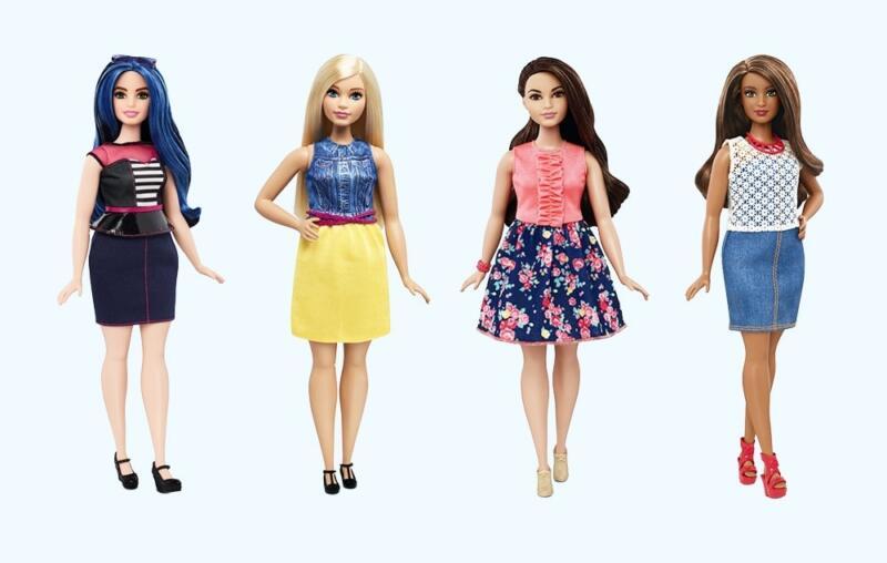 Новые куклы Барби, похожие на обычных женщин, покорили мир