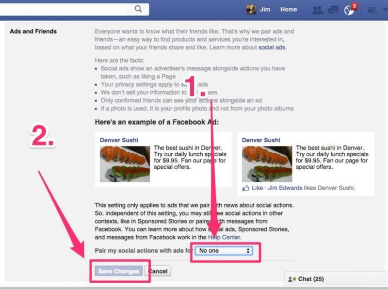 Как узнать, кто получает ваши данные в Facebook,