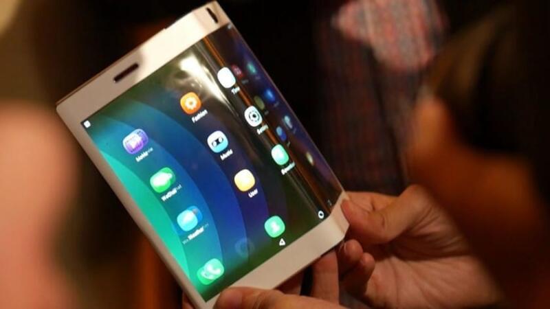 планшет с гибким экраном